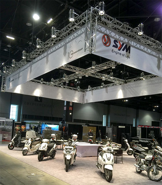 SYM International display